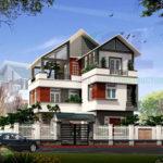 Giá Thiết kế thi công xây dựng nhà phố giá bao nhiêu tiền 1m2 hoàn thiện trọn gói theo m2 tại Tphcm Sài Gòn Hà Nội 2020