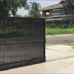 Giá cửa cổng sắt lùa Ray trượt giá bao nhiêu tiền 1m2 tại hải phòng hoàn thiện trọn gói theo m2